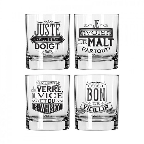 "Whiskyglas 4-pack ""Verre"""
