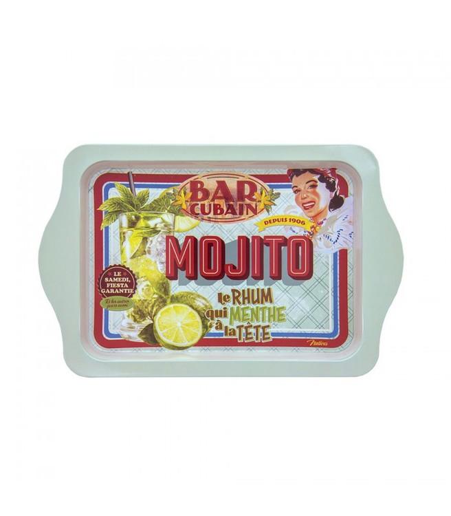 Mojito bar bricka till drinkarna i sommarvärmen.