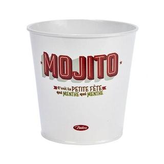 """Plåtkruka """"Mojito"""""""