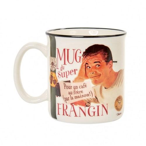 """Kaffemugg Mug """"Du Super Frangin"""""""