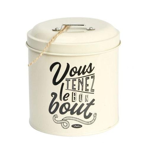 "Snöreburk ""Vous Tenez Le Bon Bout"""