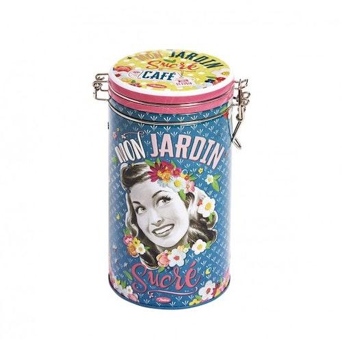 """Kaffeburk rund """"Mon Jardin"""""""