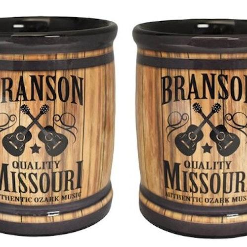 "Kaffemugg Stor ""Bronson Barrel"""