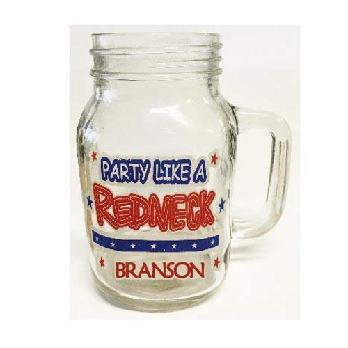 "Mason Jar ""Redneck"""