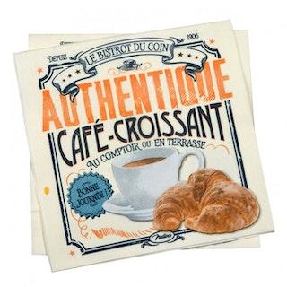 """Servetter """"Croissant"""""""