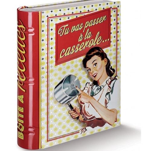 """Förvaringslåda för recept """"Casserole"""""""