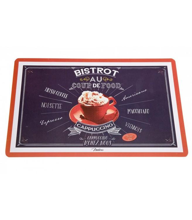Kaffeälskarens bordstablett, olika kaffesorter på.
