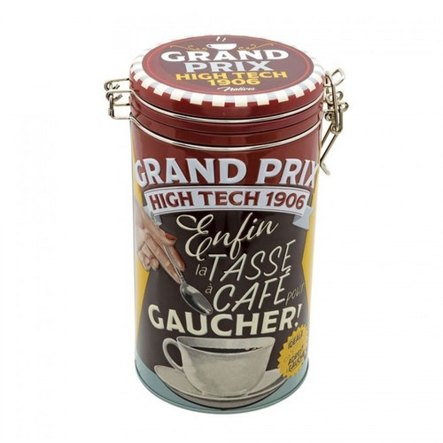 "Kaffeburk rund ""Grand Prix"""
