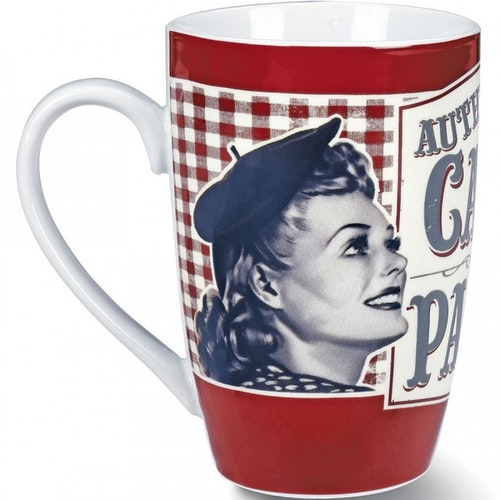 "Kaffemugg Stor ""Paris"""