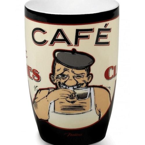 """Kaffemugg Stor """"Georges Clounet"""""""