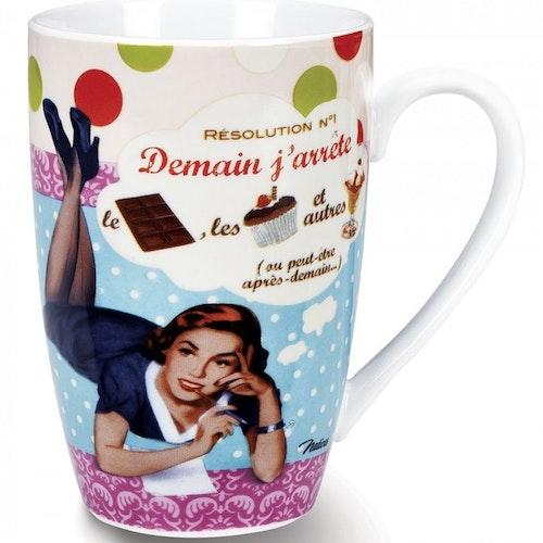 """Kaffemugg Stor """"Résolution"""""""