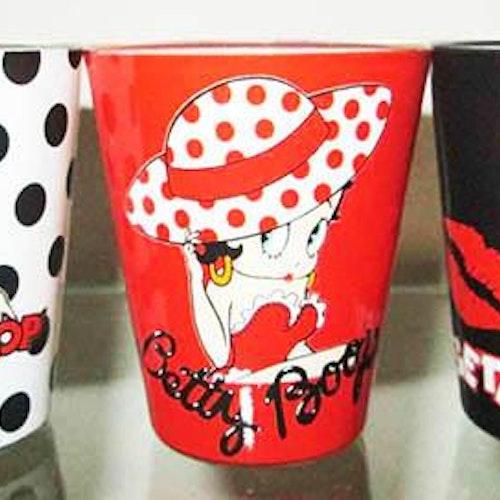 "Shotglas 3-pack ""Betty Boop"""
