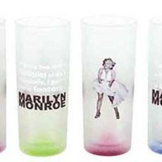 """Dricksglas 4-pack """" Marilyn White dress"""""""