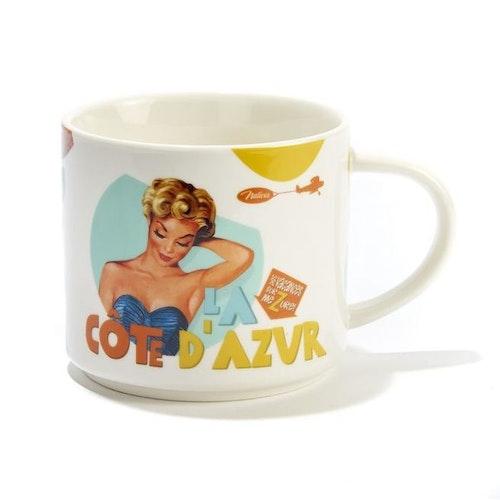 "Kaffemugg ""Cote Azur"""