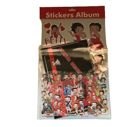 "Stickers Betty Boop ""Classic"""
