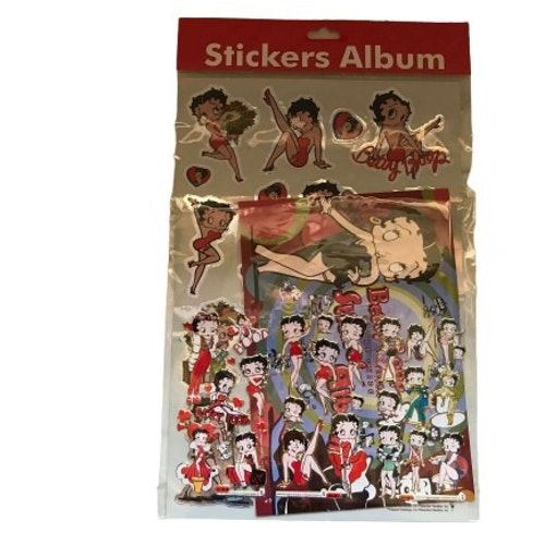 "Stickers Betty Boop ""Vintage"""