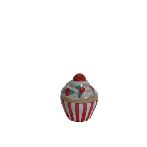 """Plåtburk Cupcake """"Röd"""""""