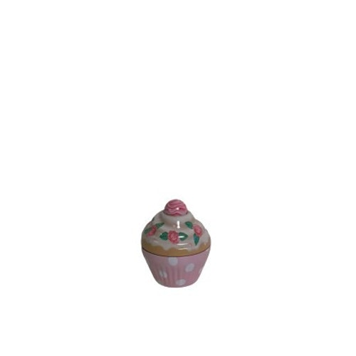 """Plåtburk Cupcake """"Rosa"""""""