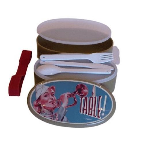 """Matlåda i plast """"Á Table"""""""