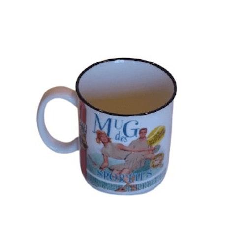 "Kaffemugg mug ""Sportifs"""