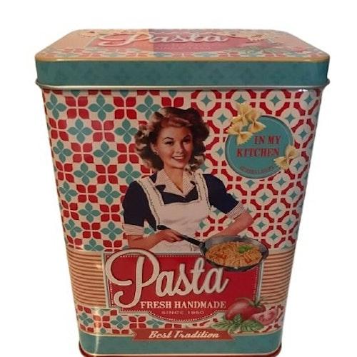 Plåtburk för Pasta