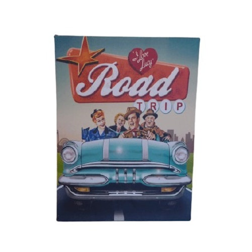 "Canvastavla med ledljus 30x40cm ""I Love Lucy, Roadtrip"""