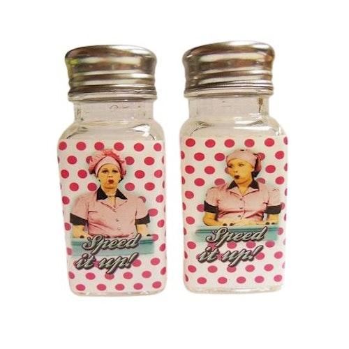 """Salt - och pepparkar """"Lucy Chocolate Factory"""""""