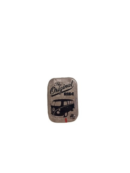 Plåtask för mintpastiller, the original ride.
