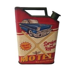 """Plåtdunk """"Motel"""""""