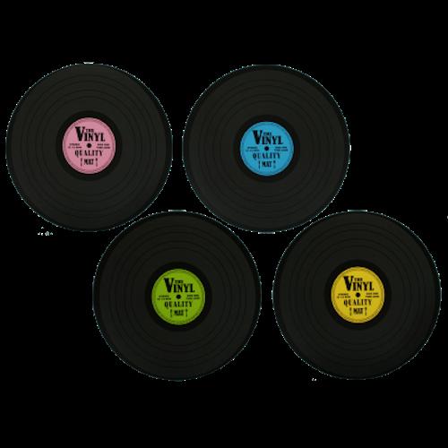 """Bordstabletter 4-pack """"Vinyl"""""""
