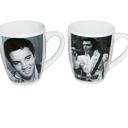 """Kaffemuggar 2-pack """"Elvis Presley"""""""