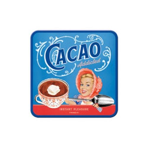 "Glasunderlägg 2-pack ""Cacao"""