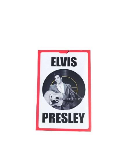 Kortlek, Elvis Presley med gitarr som motiv.