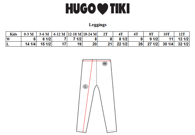 Hugo Loves Tiki - Leggings Purple Poodle
