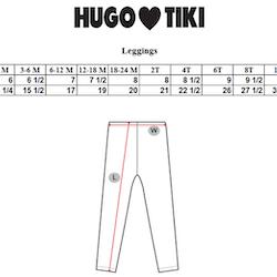 Hugo Loves Tiki - Leggings Purple Poodle