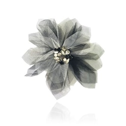 Dolly By Le Petit Tom Dolly Golightly Big Hair Rosette-Broach Ballet Black