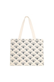 Soft Gallery - Canvas Shoulder Bag AOP Eyefan