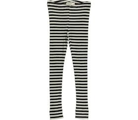 MarMar Copenhagen - Plain Leggings Black/Off-White