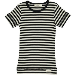 MarMar Copenhagen - Plain Tee SS  Black/Off White