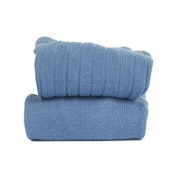 CÓNDOR - Wide Rib Basic Tights French Blue