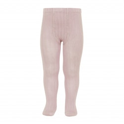 CÓNDOR - Wide Rib Basic Tights Old Rose