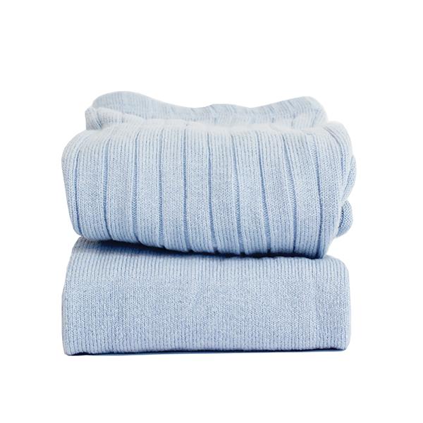 CÓNDOR - Wide Rib Basic Tights Light Blue