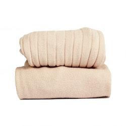 CÓNDOR - Wide Rib Basic Tights Nude