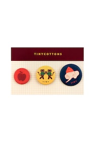 Tinycottons - LUCKYWOOD Pins multicolor