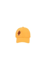Tinycottons - CAT Cap yellow/brown