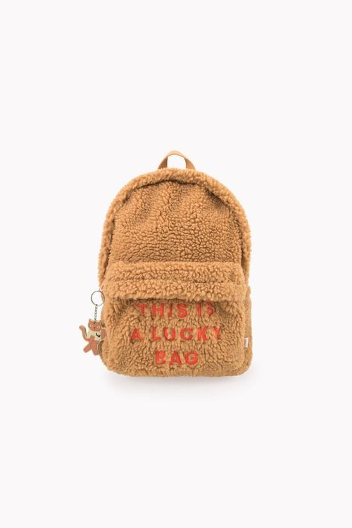 Tinycottons - Sherpa Backpack brown
