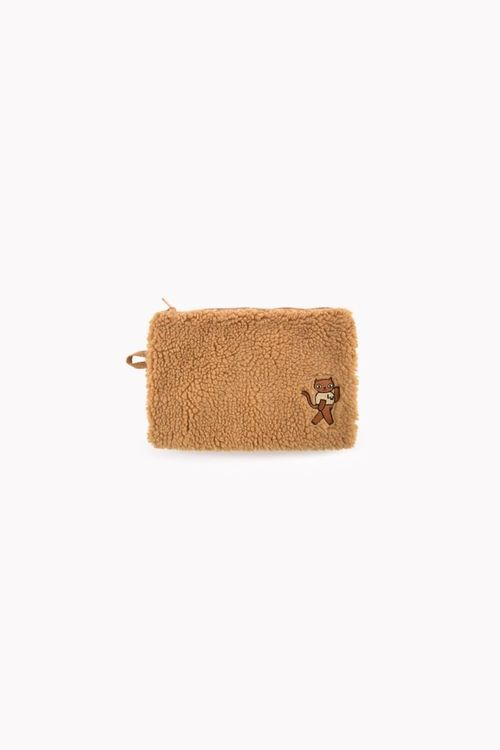 Tinycottons - Sherpa Pouch brown