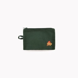 Tinycottons - LuckyPhant Pouch bottle green