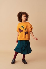 Soft Gallery - Elvira Sweatshirt Inca Gold Very Berry