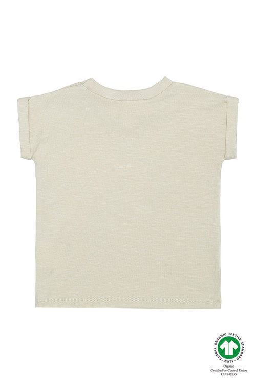 Soft Gallery - Frederick T- Shirt Oyster Gray Pods